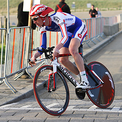 Olympia's Tour 2013 proloog Katwijk Jasper Hamelink CT Jo Piels