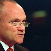 "Raymond ""Ray"" Kelly, Commissioner of the New York Police Department (NYPD) testifying at the 9/11 Commission's 11th Public Hearing in New York City."