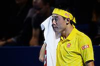 30.10.2016;  Basel; Tennis - Swiss Indoors 2016; Kei Nishikori (JPN)<br /> (Steffen Schmidt/freshfocus)