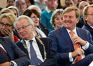 Amersfoort, 15-12-2016  <br /> <br /> King Willem-Alexander at the 10th national Naturalisation. <br /> <br /> COPYRIGHT ROYALPORTRAITS EUROPE/ BERNARD RUEBSAMEN