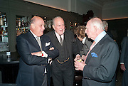 REINALDO HERRERA; CLAUS VON BULOW. ; PRINCE RUPERT LOEWENSTEIN;Graydon and Anna Carter host a lunch for Carolina Herrera to celebrate the ipening of her new shop on Mount St. .The Connaught. London. 20 January 2010