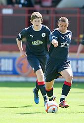 Falkirk's Mark Millar..Brechin City 1 v 2 Falkirk, The Ramsden Cup..©Pic : Michael Schofield.