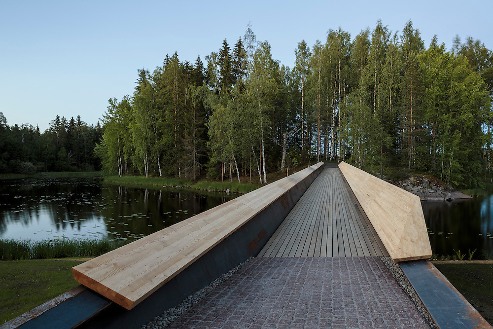 Art Museum Gösta, part of Serlachius Musuems in Mänttä, Finland designed by MX-SI architectural studio.