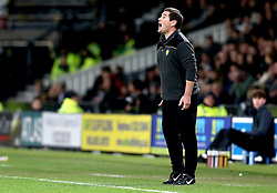 An animated Burton Albion manager Nigel Clough - Mandatory by-line: Robbie Stephenson/JMP - 21/02/2017 - FOOTBALL - iPro Stadium - Derby, England - Derby County v Burton Albion - Sky Bet Championship