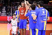 Sandro Nicevic special olympics<br /> Grissin Bon Pallacanestro Reggio Emilia - Betaland Capo d' Orlando<br /> Lega Basket Serie A 2016/2017<br /> Reggio Emilia, 05/12/2016<br /> Foto Ciamillo-Castoria