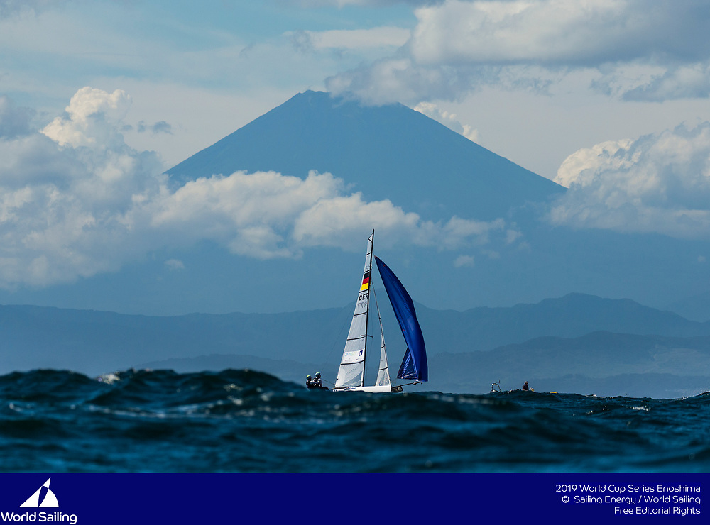 From 9 to 16 September 2018, the Tokyo 2020 Olympic Sailing Competition venue in Enoshima, Japan, will host sailors for the first event of the 2019 World Cup Series. More than 450 sailors from 45 nations will race in the 10 Olympic events.