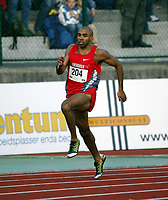 Friidrett, 12 juni 2004, Bergen Bislett Games, Golden League, Jimisola Laursen, Sverige, på 400 meter