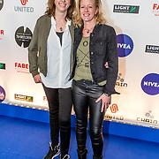 NLD/Amsterdam/20170328 - Uitreiking Tv Beelden 2017, Bettie Steur en partner Rosita