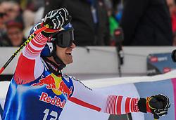 25.01.2020, Streif, Kitzbühel, AUT, FIS Weltcup Ski Alpin, Abfahrt, Herren, im Bild Matthias Mayer (AUT, 1. Platz) // race winner Matthias Mayer of Austria reacts after his run in the men's downhill of FIS Ski Alpine World Cup at the Streif in Kitzbühel, Austria on 2020/01/25. EXPA Pictures © 2020, PhotoCredit: EXPA/ Erich Spiess
