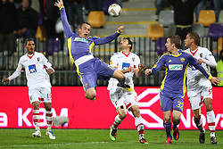 Dalibor Volas of NK Maribor at 3th round of European Leauge football match between Nk Maribor and Nk Braga, November 20, 2011, in Maribor, Slovenia (Photo by Urban Urbanc / Sportida ) .