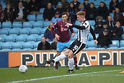 GOAL Callum Camps scores for Rochdale during the EFL Sky Bet League 1 match between Scunthorpe United and Rochdale at Glanford Park, Scunthorpe, England on 24 March 2018. Picture by Daniel Youngs.
