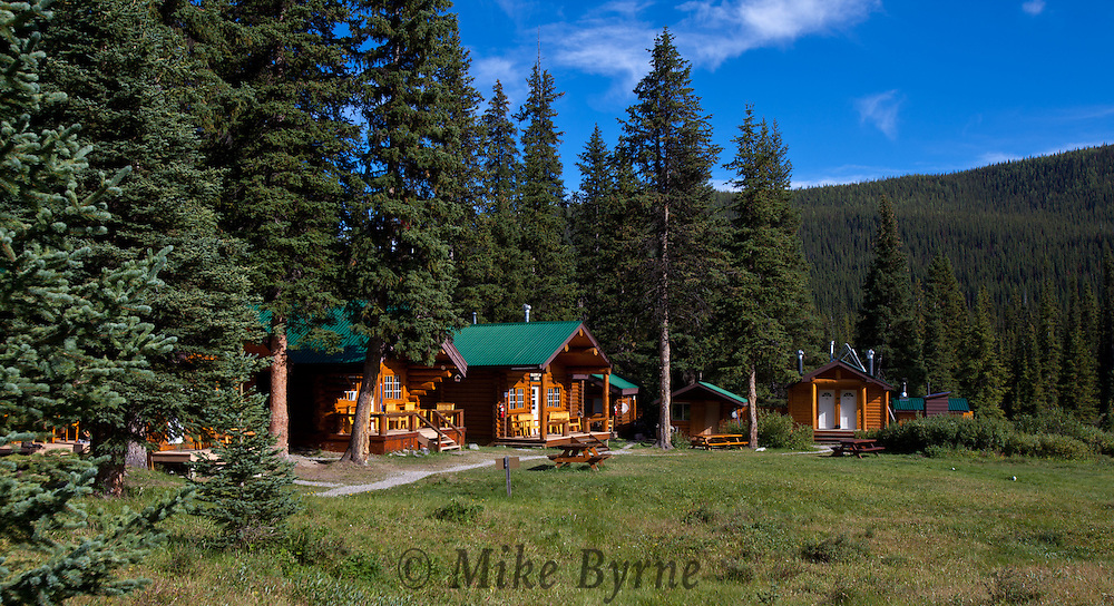 Shadow Lake Lodge, near Shadow Lake in Banff National Park, Alberta.