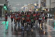 Front group in Fish Hoek during the 2 Oceans Ultra Marathon held in and around Cape Town and the Cape Peninsular on the 7th April 2012..Photo by Jurie Senekal/SPORTZPICS