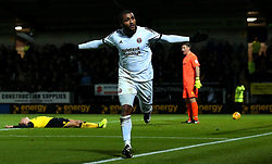 Leon Clarke of Sheffield United celebrates scoring a goal to make it 3-1 - Mandatory by-line: Robbie Stephenson/JMP - 17/11/2017 - FOOTBALL - Pirelli Stadium - Burton upon Trent, England - Burton Albion v Sheffield United - Sky Bet Championship