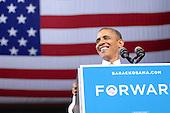 Barack Obama Kent State University 2012