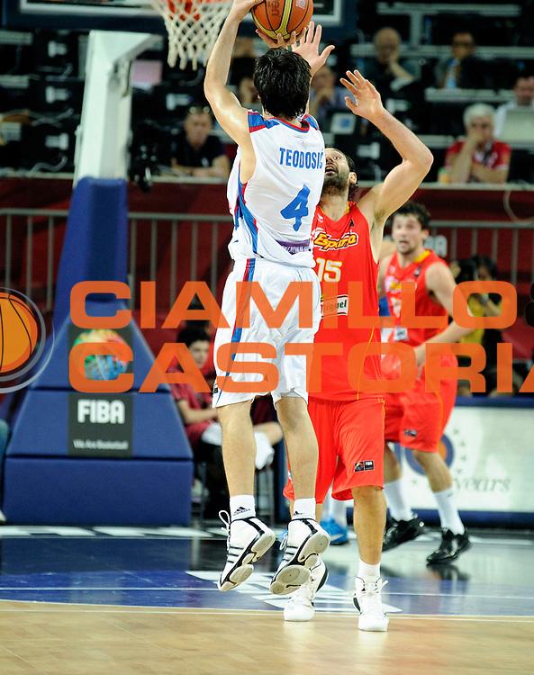 DESCRIZIONE : Istanbul Turchia Turkey Men World Championship 2010 Quarter Finals Campionati Mondiali Quarti di Finale Serbia Spain<br /> GIOCATORE : Milos Teodosic Last Shot Ultimo Tiro<br /> SQUADRA : Serbia<br /> EVENTO : Istanbul Turchia Turkey Men World Championship 2010 Campionato Mondiale 2010<br /> GARA : Serbia Spain Serbia Spagna<br /> DATA : 08/09/2010<br /> CATEGORIA : tiro shot<br /> SPORT : Pallacanestro <br /> AUTORE : Agenzia Ciamillo-Castoria/JF.Molliere<br /> Galleria : Turkey World Championship 2010<br /> Fotonotizia : Istanbul Turchia Turkey Men World Championship 2010 Quarter Finals Campionati Mondiali Quarti di Finale Serbia Spain<br /> Predefinita :
