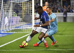May 3, 2019 - Strasbourg, France - Kone Lamine Gueye vs Valere Germain (Credit Image: © Panoramic via ZUMA Press)