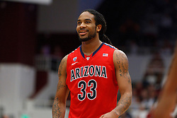 Feb 4, 2012; Stanford CA, USA; Arizona Wildcats forward Jesse Perry (33) before a free throw against the Stanford Cardinal during the second half at Maples Pavilion.  Arizona defeated Stanford 56-43. Mandatory Credit: Jason O. Watson-US PRESSWIRE
