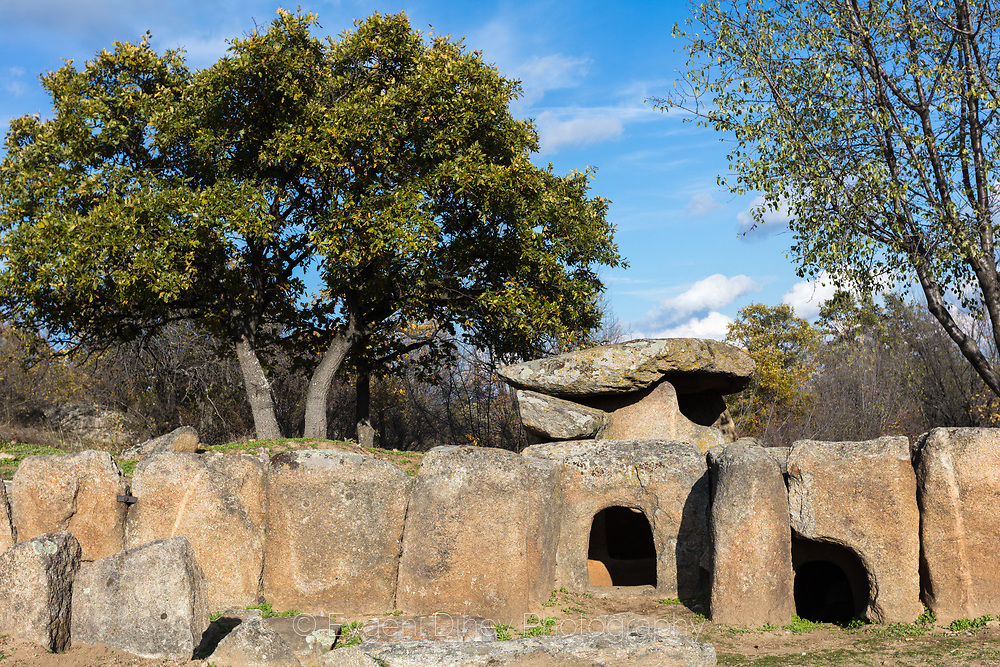 Ancient thracian stone tomb