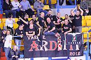 DESCRIZIONE : Brindisi  Lega A 2015-16<br /> Enel Brindisi OpenJob Metis Varese<br /> GIOCATORE : Tifosi Pubblico Spettatori<br /> CATEGORIA :Before Pregame <br /> SQUADRA : Openjobmetis Varese<br /> EVENTO : Campionato Lega A 2015-2016<br /> GARA :Enel Brindisi OpenJobMetis Varese<br /> DATA : 29/11/2015<br /> SPORT : Pallacanestro<br /> AUTORE : Agenzia Ciamillo-Castoria/D.Matera<br /> Galleria : Lega Basket A 2015-2016<br /> Fotonotizia : Brindisi  Lega A 2015-16 Enel Brindisi OpenJobMetis Varese<br /> Predefinita :