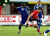 Fotball, 6. september 2008 , VM-kvalifisering , Weltmeisterschaft 2010, Qualifikation,Østerrike - Frankrike , Oesterreich vs Frankreich, AUT vs FRA.  Bild zeigt Lassana Diarra (FRA) und Andreas Ivanschitz (AUT).<br /> Norway only