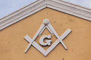 Masonic Lodge in Nassau , Bahamas.