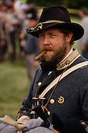 Civil War reenactors for the Battle of Perryville, Kentucky, the largest Civil War battle in KY.