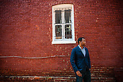 WASHINGTON, DC -- JUNE 13: Ta-Nehisi Coates, National Correspondent for The Atlantic Magazine, wrote the cover piece about reparations in this month's issue...
