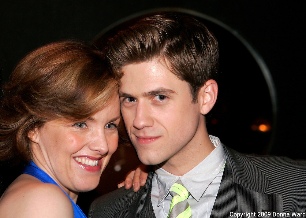Alice Ripley and AaronTveit