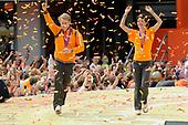 Nederlandse olympische ploeg komt thuis