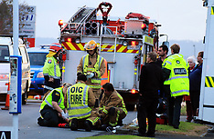 Auckland-Motorcyclist seriously injured, Avondale