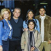 NLD/Utrecht/19971223 - Pittig Popconcert 1997 Utrecht, Vanessa, partner Hans Breukhoven en zoon Jordy en dochter Constanza en Marvin
