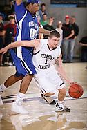 January 14, 2010: The Oklahoma City University Stars play against the Oklahoma Christian University Eagles at the Eagles Nest on the campus of Oklahoma Christian University.