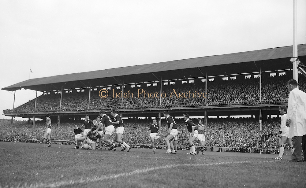 All Ireland Senior Football Championship Final, Kerry v Galway, 27.09.1964, 09.27.1964, 27th September 1964, Galway 0-15 Kerry 0-10, 27091964AISFCF,.