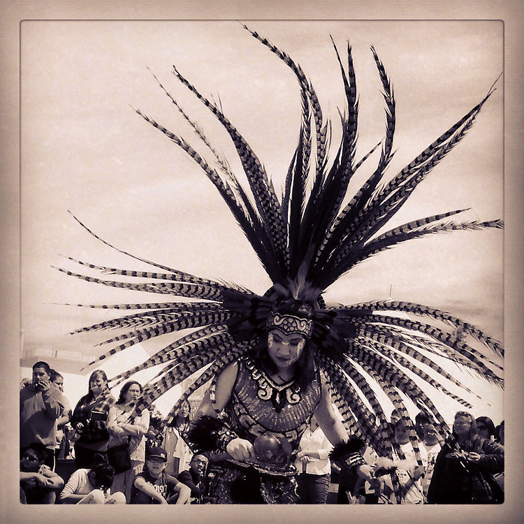 Aztec Dancer. Albuquerque, New Mexico.