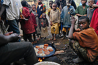 During my collaboration with an UNESCO program, I went several times in Africa, including Rwanda<br /> Here are some photos of these different missions, mostly with regard to orphans of Rwanda and the mission with Marie Jose Perrec and Marie Jose Lallart (UNESCO)<br /> On the road to Kigali, an unexpected breakfast with orphans.