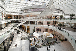 Interior of new  luxury section of Dubai Mall Fashion Avenue , Downtown Dubai, United Arab Emirates