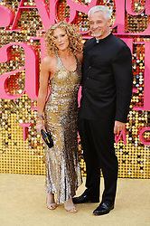 © Licensed to London News Pictures. 29/06/2016.  KELLY HOPPEN and JOHN GARDINER attend the ABSOLUTELY FABULOUS world film premiere. London, UK. Photo credit: Ray Tang/LNP