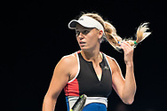 Caroline Wozniacki at the 2018 Champions Battle at Parken, Copenhagen, Denmark, 30-04-2018. Photo Credit: Katja Boll/EVENTMEDIA.