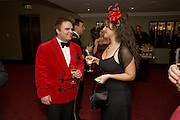 ANDREW HEAVYSIDE; MARIA CRISTINA LEBRAND. The 30th White Knights charity  Ball.  Grosvenor House Hotel. Park Lane. London. 10 January 2009 *** Local Caption *** -DO NOT ARCHIVE-© Copyright Photograph by Dafydd Jones. 248 Clapham Rd. London SW9 0PZ. Tel 0207 820 0771. www.dafjones.com.<br /> ANDREW HEAVYSIDE; MARIA CRISTINA LEBRAND. The 30th White Knights charity  Ball.  Grosvenor House Hotel. Park Lane. London. 10 January 2009