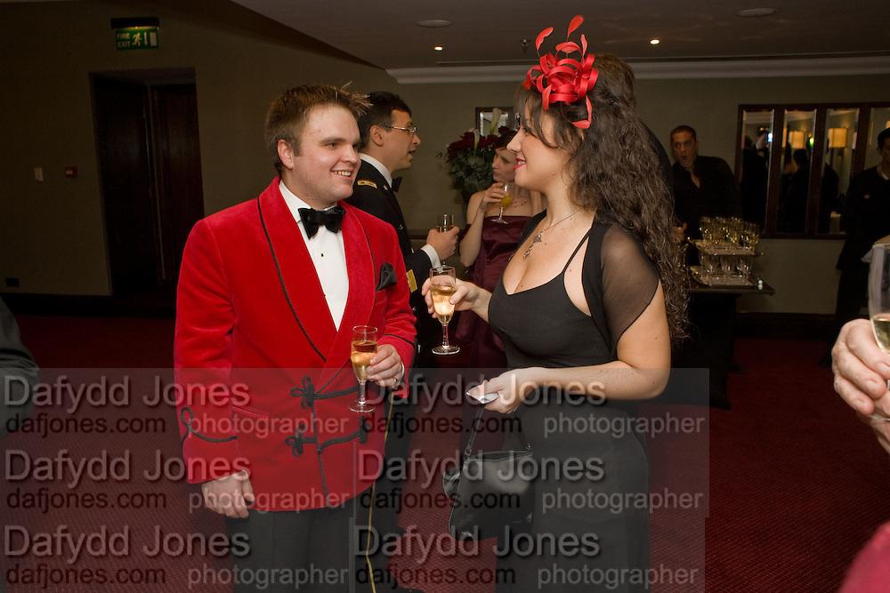 ANDREW HEAVYSIDE; MARIA CRISTINA LEBRAND. The 30th White Knights charity  Ball.  Grosvenor House Hotel. Park Lane. London. 10 January 2009 *** Local Caption *** -DO NOT ARCHIVE-© Copyright Photograph by Dafydd Jones. 248 Clapham Rd. London SW9 0PZ. Tel 0207 820 0771. www.dafjones.com.<br /> ANDREW HEAVYSIDE; MARIA CRISTINA LEBRAND. The 30th White Knights charity  Ball.  Grosvenor House Hotel. Park Lane. London. 10 January 2009