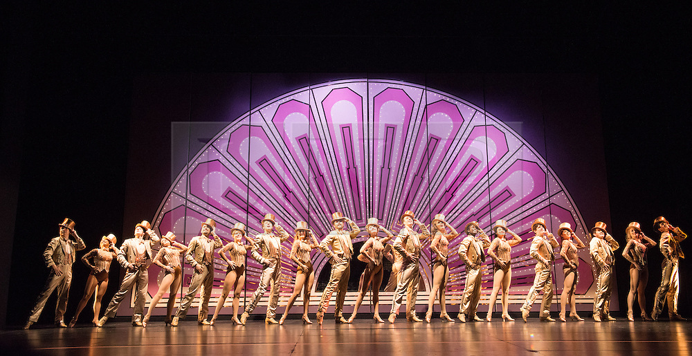 © Licensed to London News Pictures. 08/02/2013. London, UK. A Chorus Lineopened for first time in London season, since its first in 1976 won the Olivier Award for Best Musical. This full London revival of the Broadway Production A Chorus Line is being staged at the London Palladium from February 2013. The production is directed by Broadway and West End veteran director and choreographer Bob Avian. Avian was Michael Bennett's long term collaborator and his co-choreographer on the original production. Photo credit: Tony Nandi/LNP
