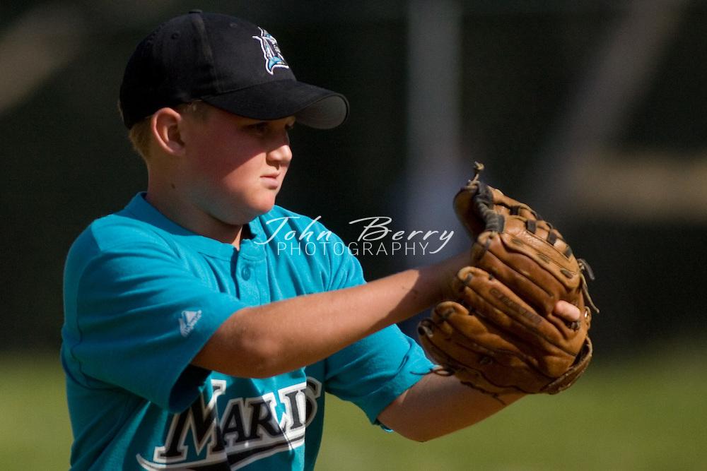 Madison Parks and Rec Baseball.Minors.Marlins vs Cardinals.5/19/2007