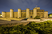 Palace of the Aljafería in Saragossa, Aragón, Spain