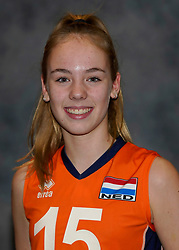 24-12-2019 NED: Photoshoot selection of Orange Youth Girls, Arnhem<br /> Orange Youth Girls 2019 - 2020 / Marit Zander #15