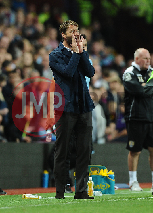 Aston Villa Manager Tim Sherwood  - Mandatory byline: Joe Meredith/JMP - 07966386802 - 25/08/2015 - FOOTBALL - Villa Park -Birmingham,England - Aston Villa v Notts County - Capital One Cup - Second Round