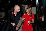 GAIL PORTER; BETH MCLOUGHLIN, The afterparty for the Terrence Higgins Supper Club. Floridita, Wardour St. London. 3 November 2009