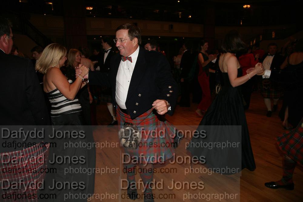 David Reid chairman of Tesco, The Royal Caledonian Ball 2007. Grosvenor House. 4 May 2007.  -DO NOT ARCHIVE-© Copyright Photograph by Dafydd Jones. 248 Clapham Rd. London SW9 0PZ. Tel 0207 820 0771. www.dafjones.com.