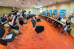 Press conference of Slovenian Nordic Ski Jumping team, on June 23, 2020 in Hotel Livada, Moravske Toplice, Slovenia. Photo by Ales Cipot / Sportida
