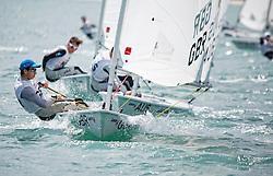 United KingdomLaser RadialMenHelmGBRDW83DanielWhiteley<br />Day5, 2015 Youth Sailing World Championships,<br />Langkawi, Malaysia